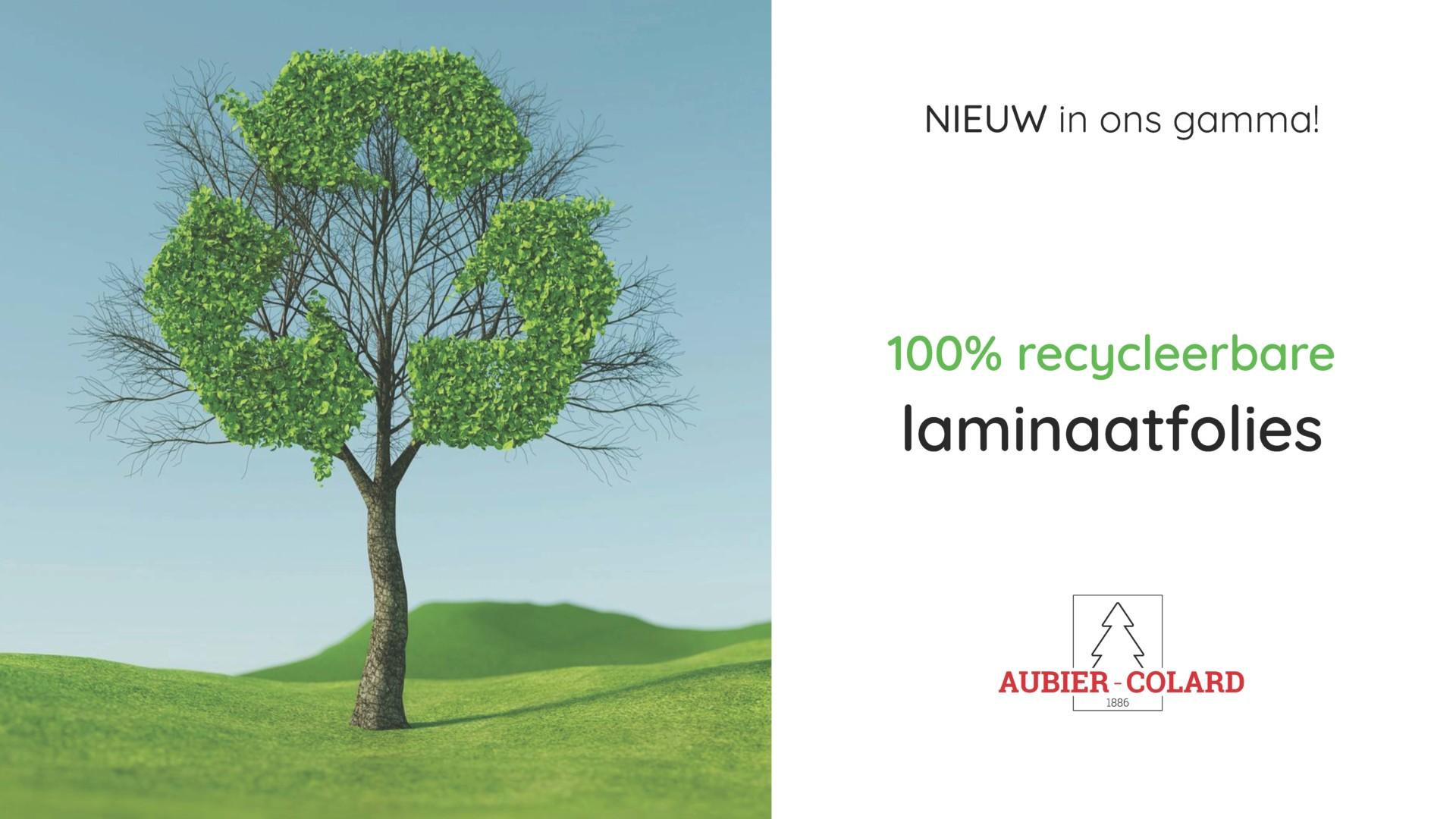 Recycleerbare laminaatfolies