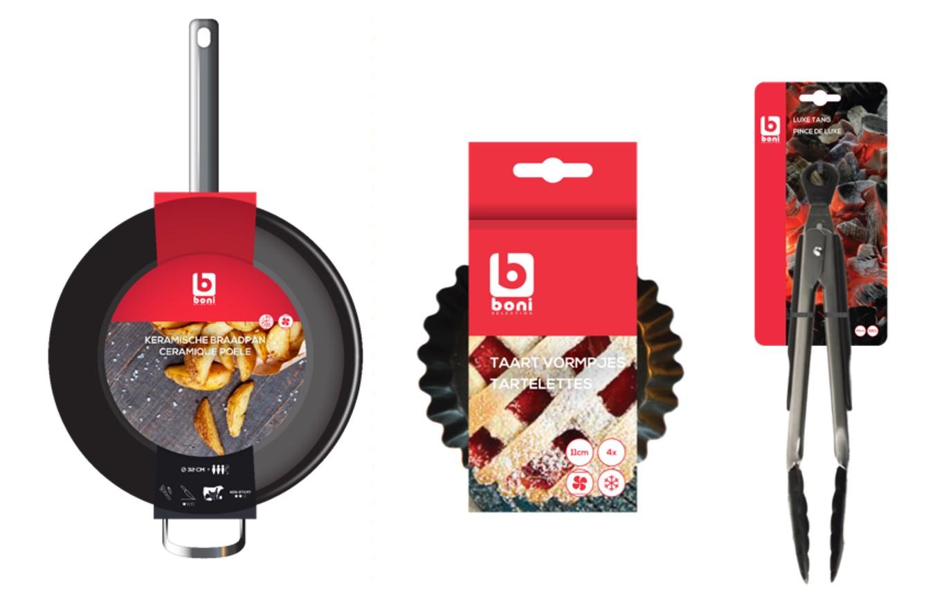 Boni Koken & Tafelen | packaging design