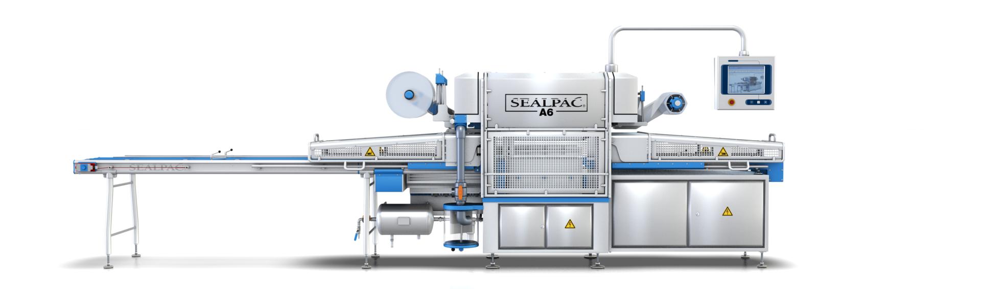 Schalensluitmachine – Traysealer Sealpac A6