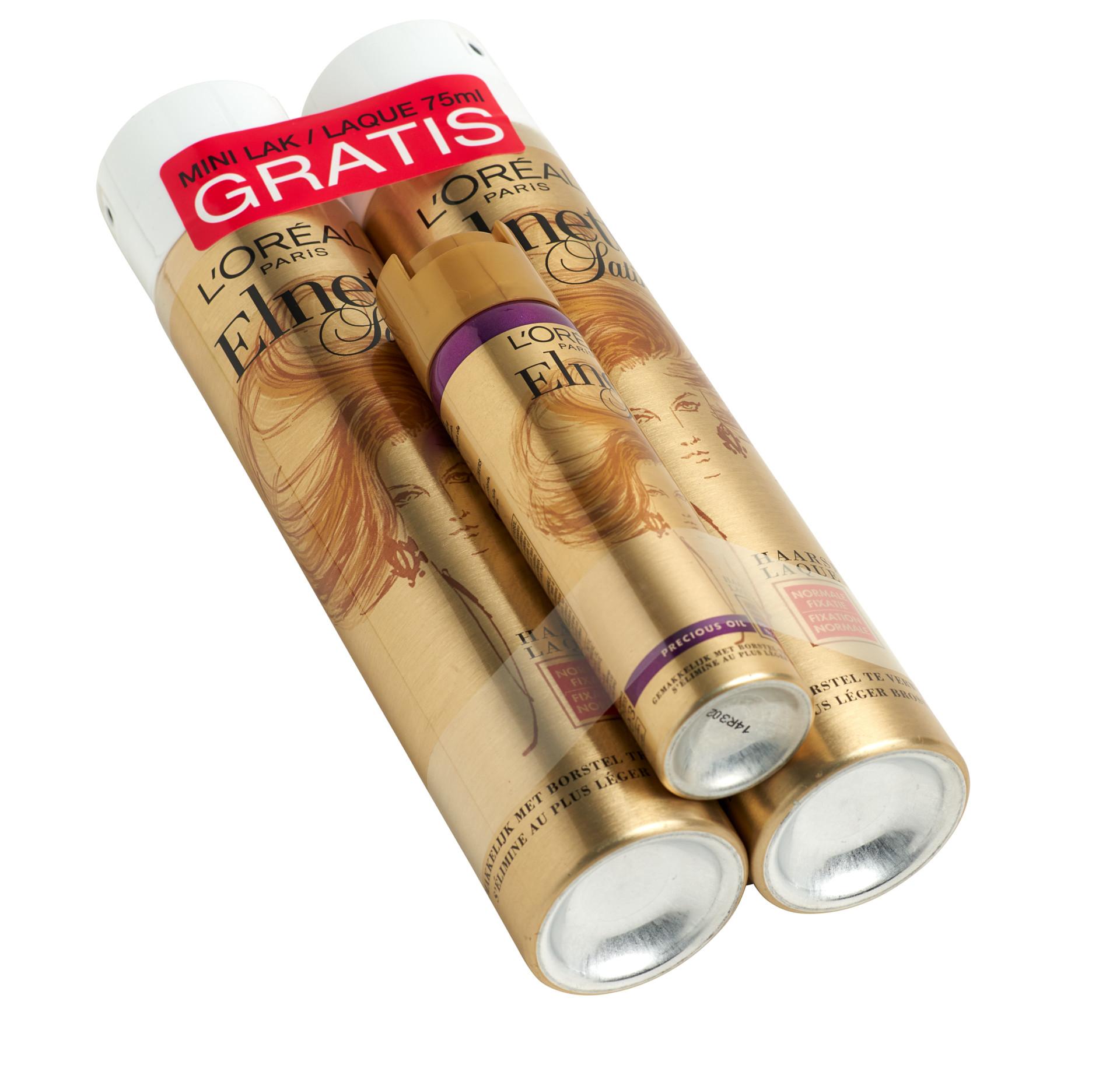 Moins, c'est plus! Bandall regroupe des sprays et des bombes aérosols avec seulement deux banderoles ultraminces