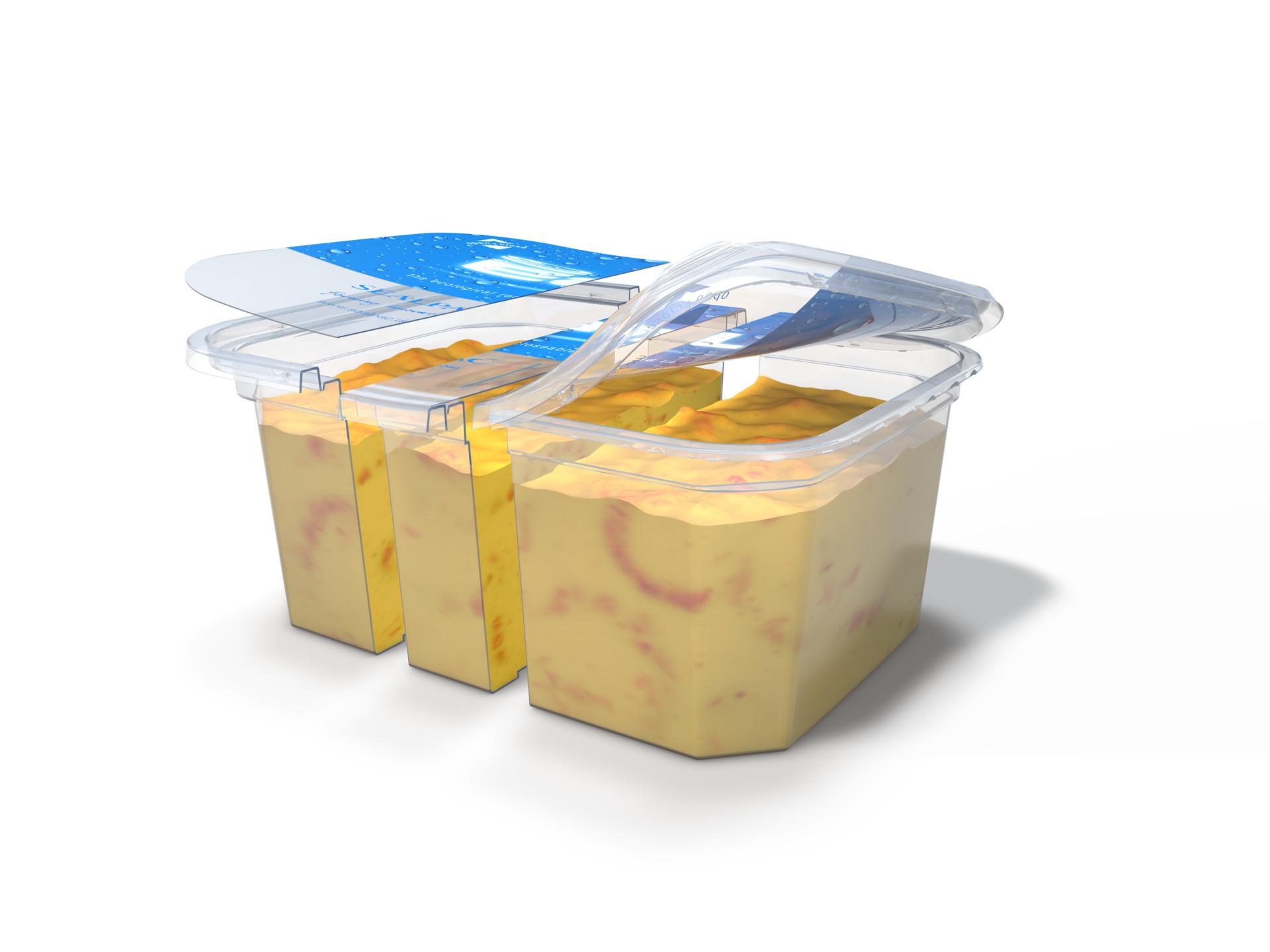 Sealpac A-serie met EasyLid verpakking