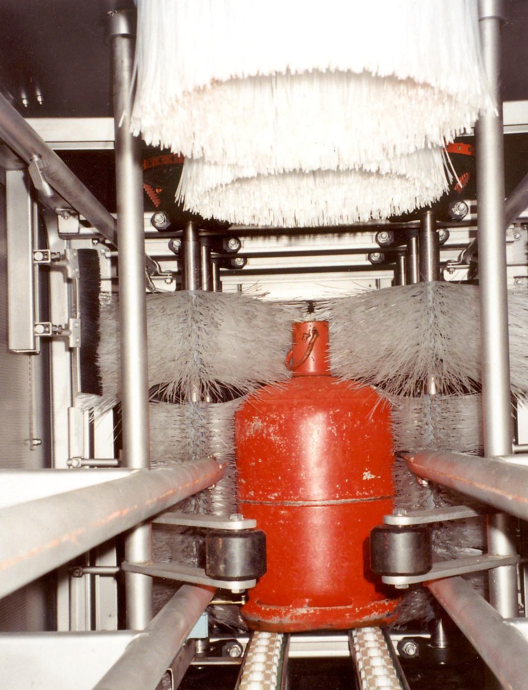 Buitenwassers voor gasflessen KL-reeks