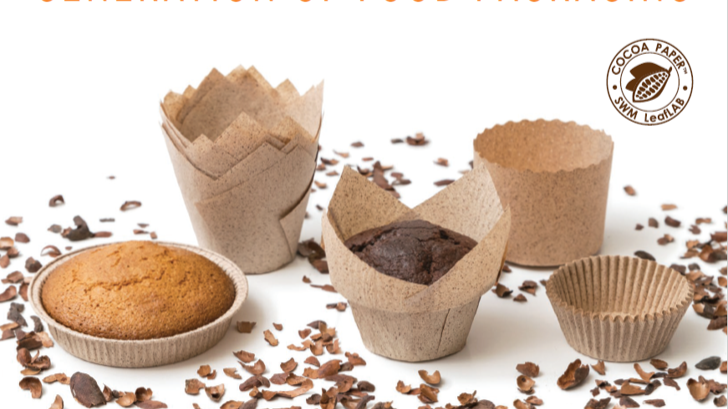 Cocoa Paper baking moulds and bags