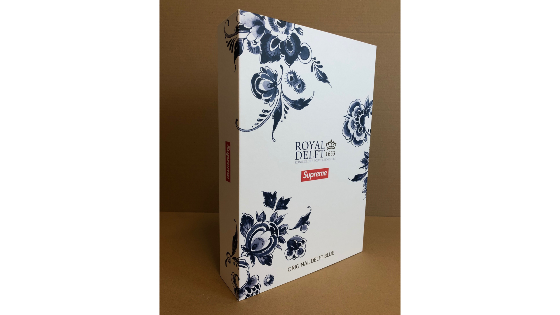 Luxury packaging for Royal Delft & Supreme