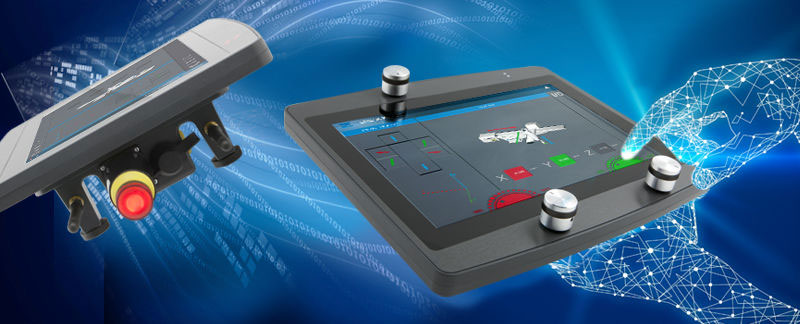 Human-Machine Interfaces (HMI) – single of multi-touch