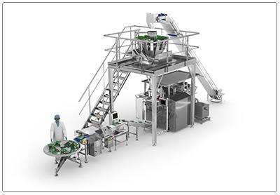 ULMA Packaging lanceert revolutionaire technologie voor de productie van kruiden en sla