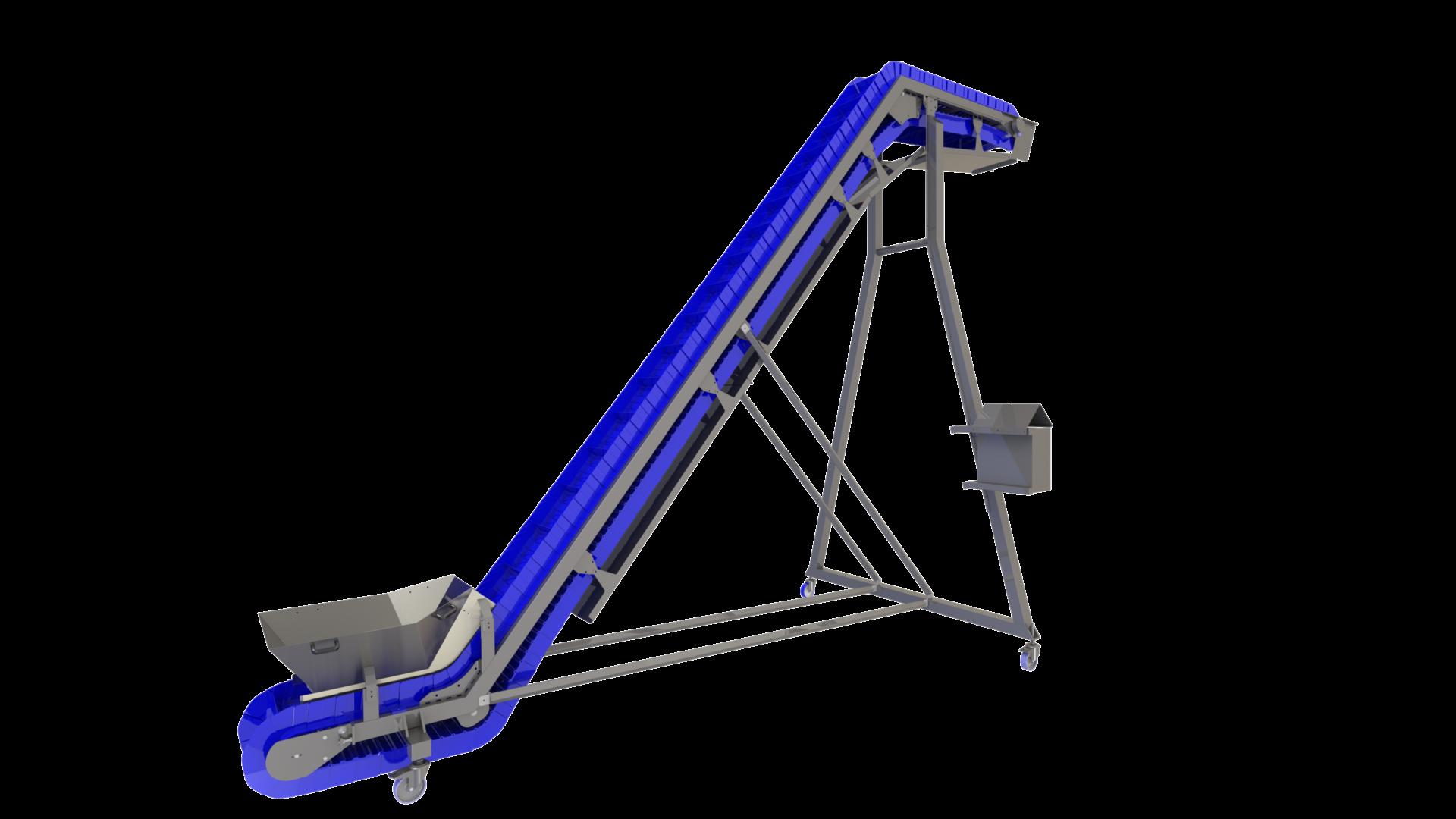 Infeed  / take away conveyors