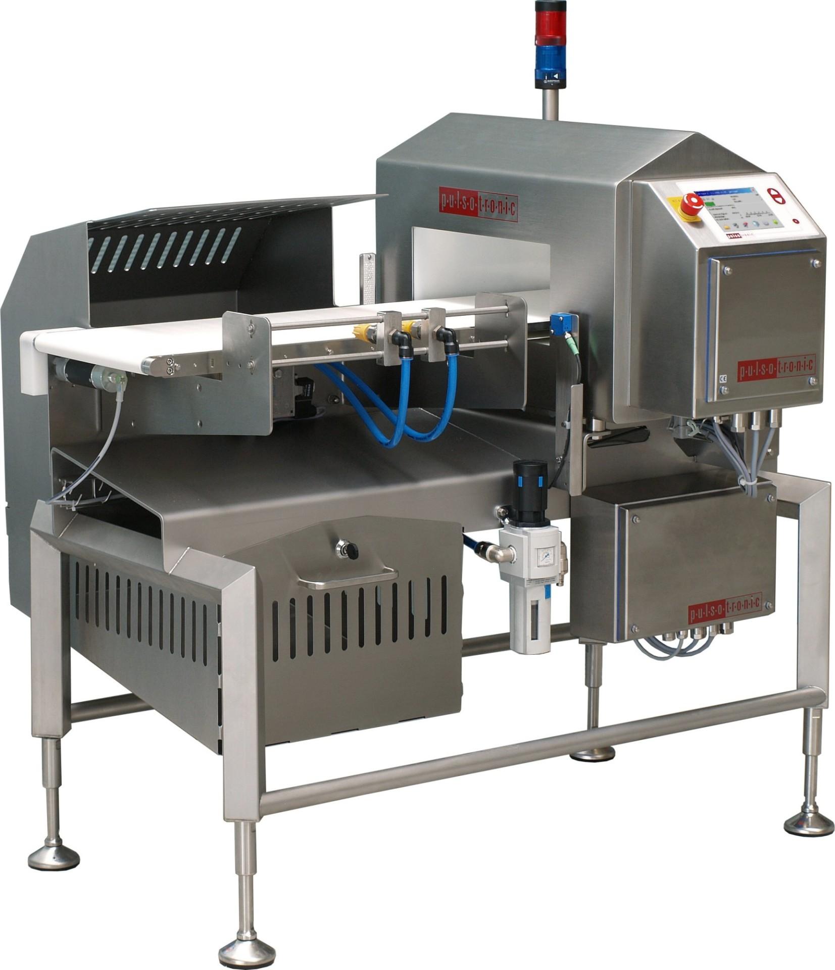 Pulsotronic Metaaldetectie en Checkwegers voor de food verpakkingsidustrie
