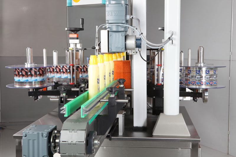 Fully Automatic Labeling Machines: GESET
