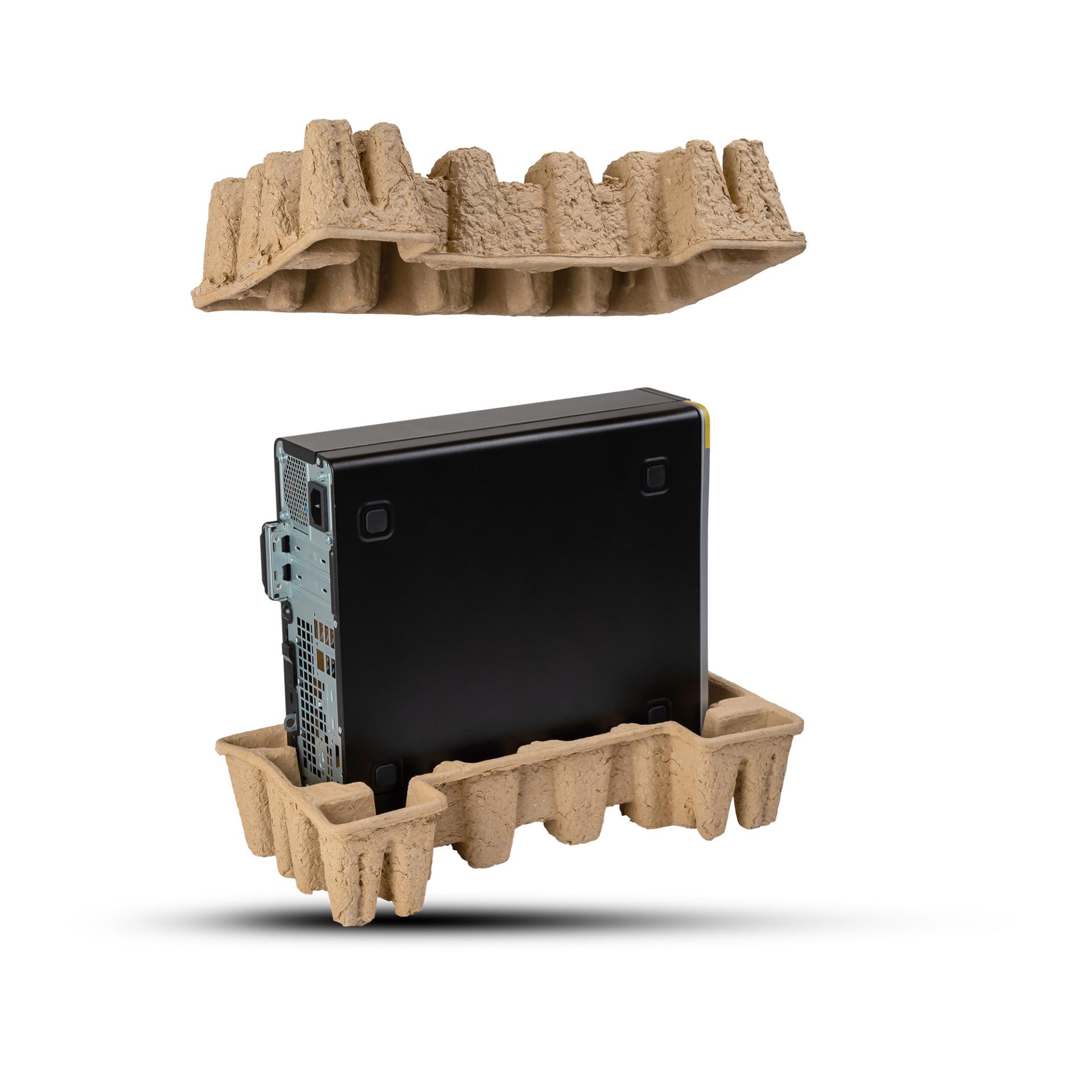 Pulp-Tec Faserguss Computerverpackung