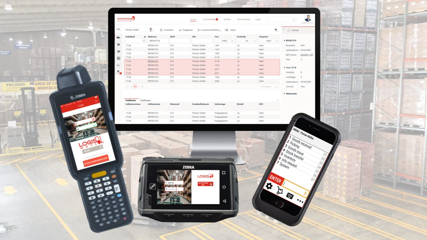Warehouse management system that moves – LOGIS MOVE