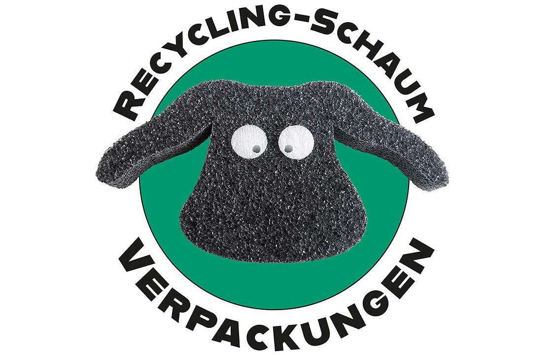 Interner Recycling-Prozess von PE-LD Schaum