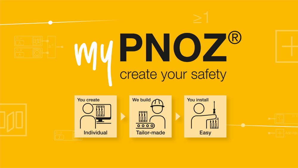 Why is the modular safety relay myPNOZ ideal for your plant?