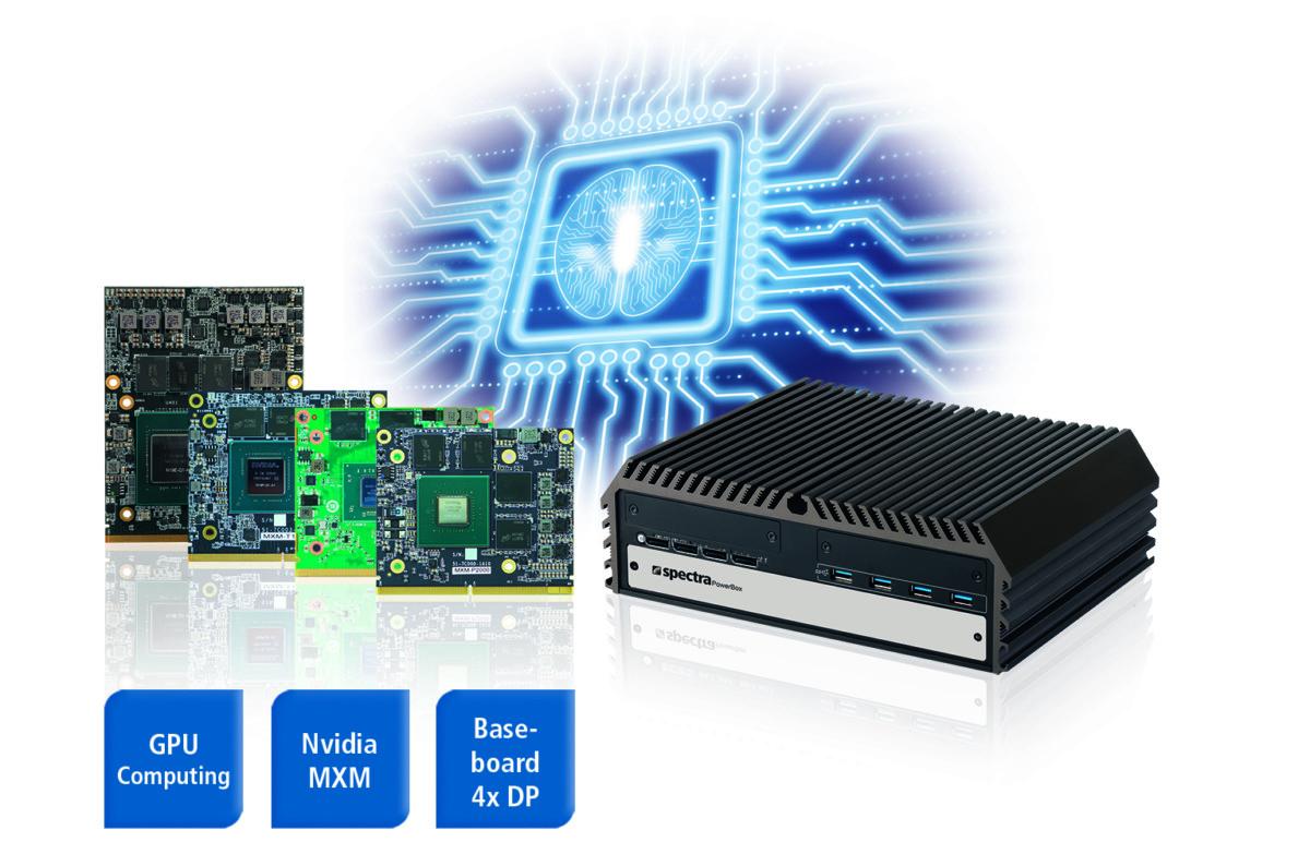 Spectra PowerBox 500: Edge AI server with MXM GPU modules