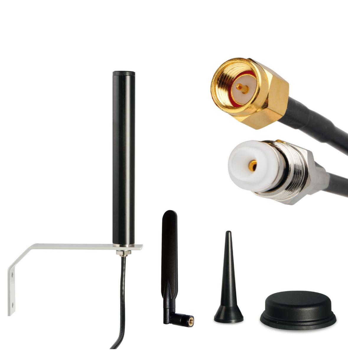 Mobilfunkantennen für M2M/IoT und Spezialanwendungen wie Bahn, Marine und Smart Metering