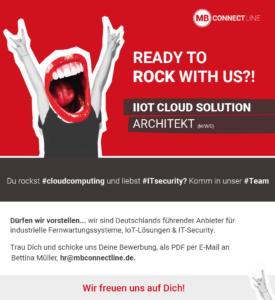 IoT Cloud Solution Architekt