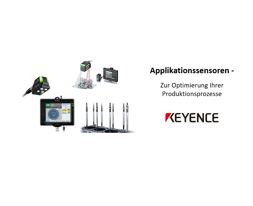 Applikationssensoren – Messtaster, Lasersensoren & Vision-Sensoren