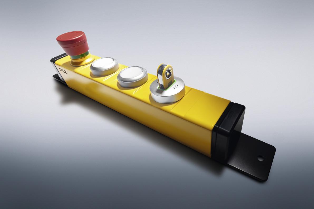 Taster-Unit PITgatebox mit PITreader – Bedieneinheit mit Zugangsberechtigungssystem