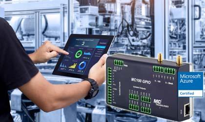 Programmierbares IoT LTE Mobilfunk-Gateway MC100 GPIO