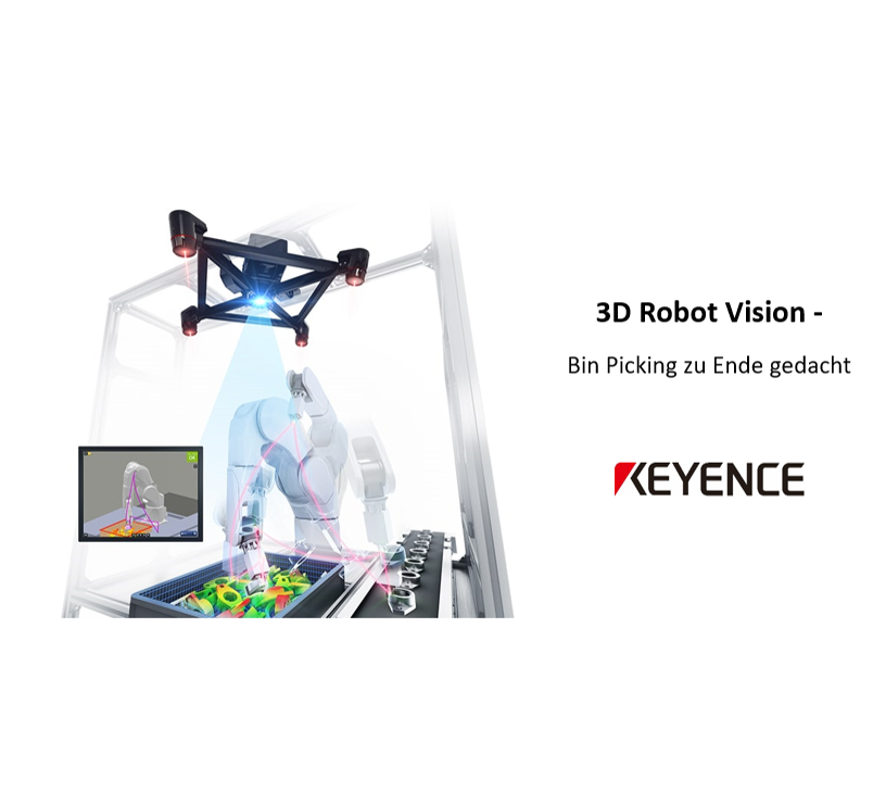 Robot-Vision – Bin Picking zu Ende gedacht