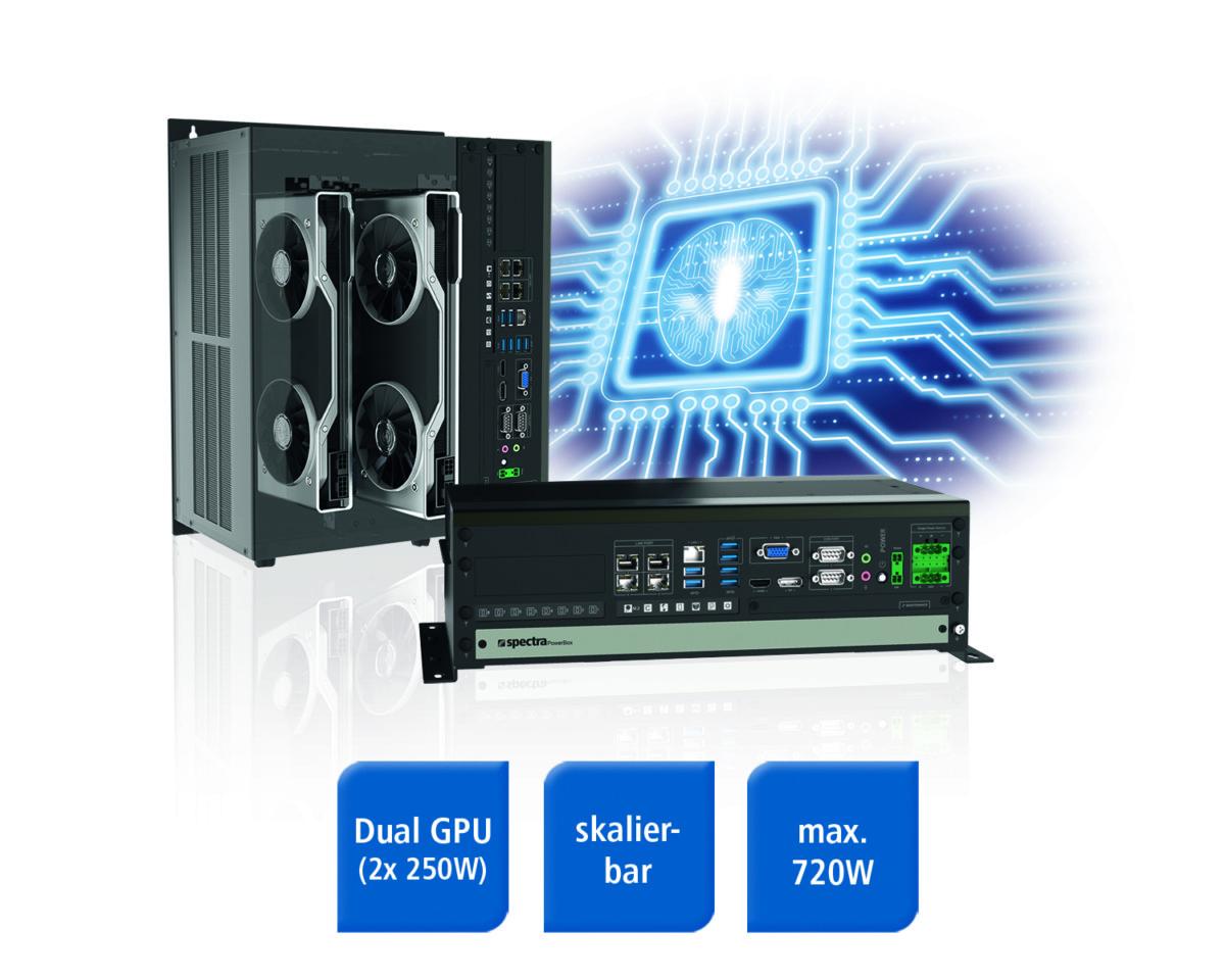 Spectra PowerBox 5000: Skalierbares Highend-GPU-Computing System