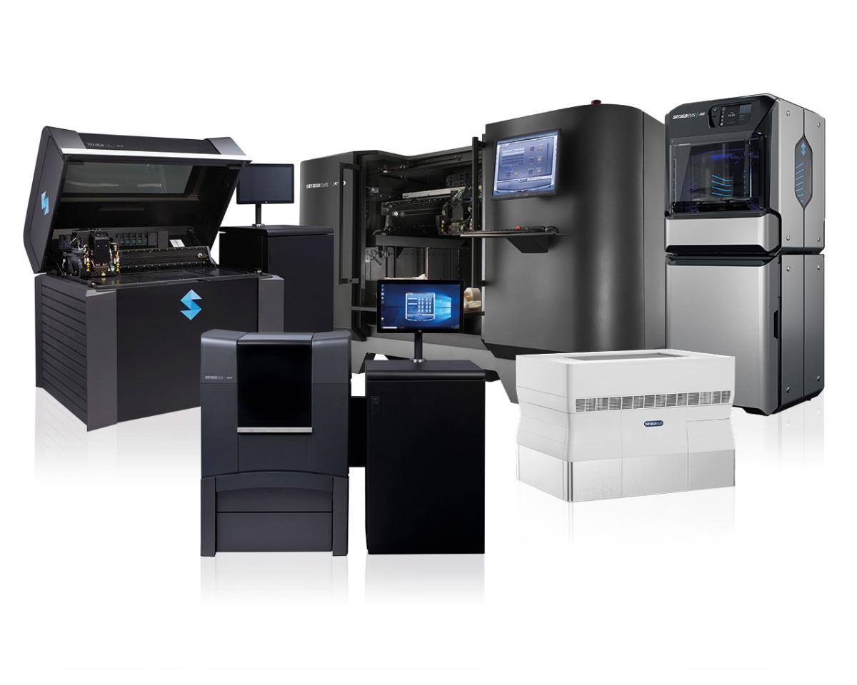 Stratasys 3D-Drucker mit PolyJet-Technologie