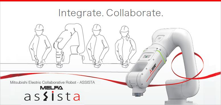 Cobot MELFA Assista – der kollaborierende Roboter
