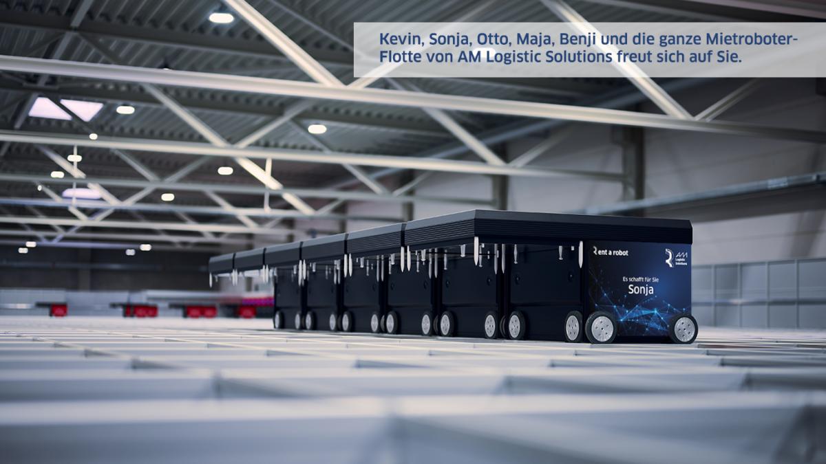 AM Logistic Solutions vermietet seit März 2021 AutoStore-Roboter