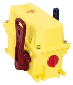 Zweiseitige Seilzug-Not-Halt-Schalter