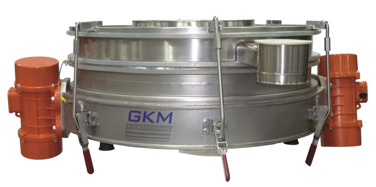 Neue GKM High End-Versionen der Vibrations-Kontrollsiebmaschine