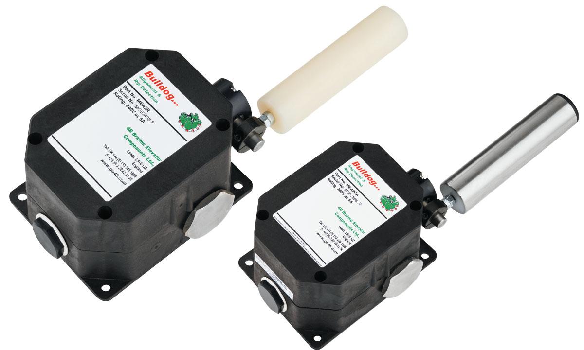 Transportband Schieflaufsensor & Bandabriß-Überwachungssystem (ATEX-zert.)