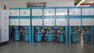 Schwebstofffilteranlage mit mehreren Module