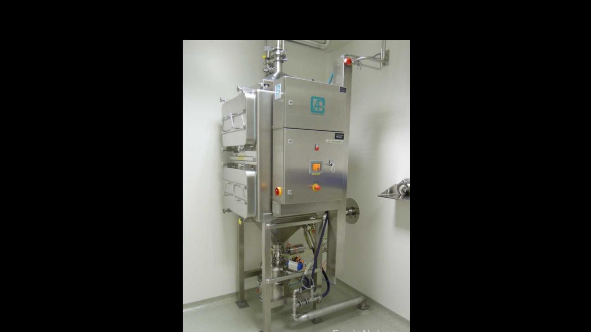 waschbare Filteranlage