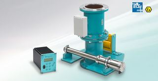 DYNArad – Massedurchsatzmessung von Schüttgütern (Durchfluss-/Mengenmessung bis 500 t/h)