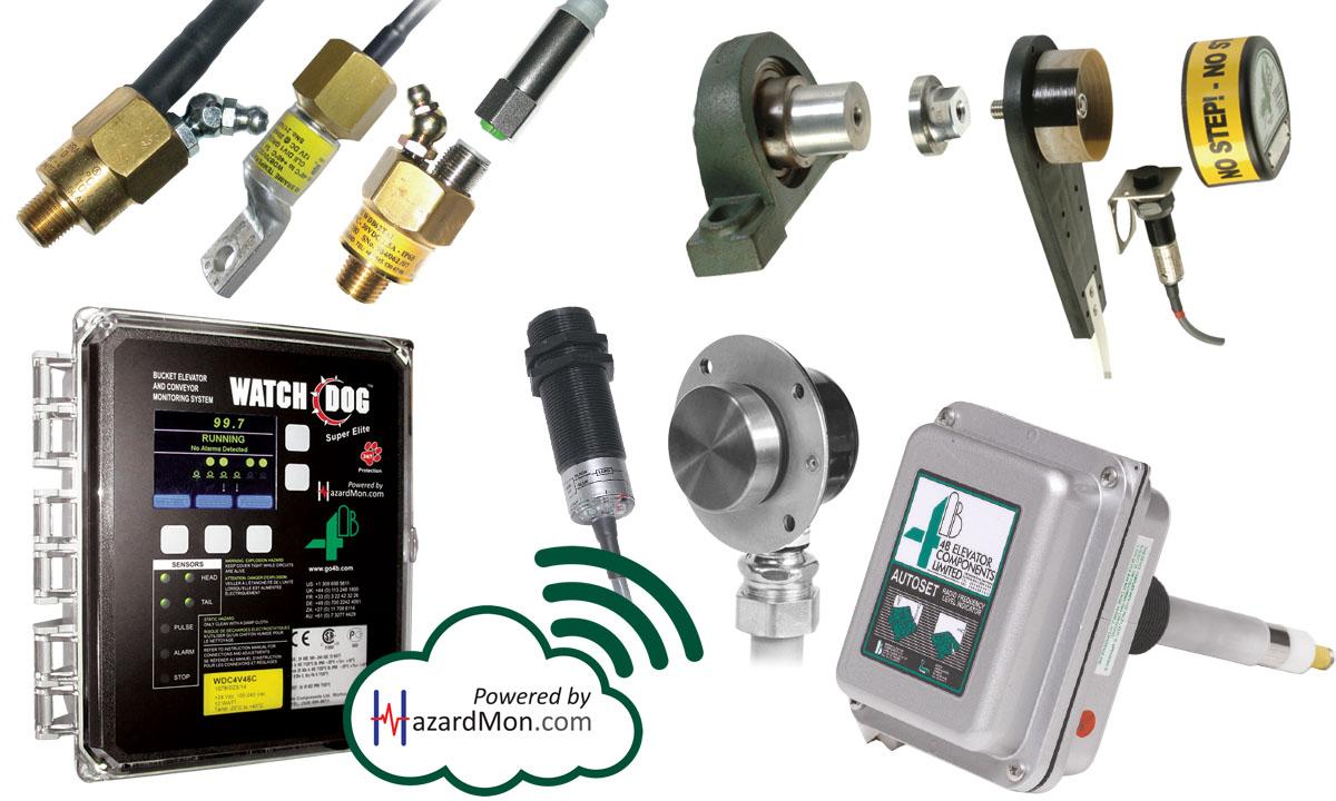 Überwachungsgeräte & Sensoren für Becherwerke & Förderer