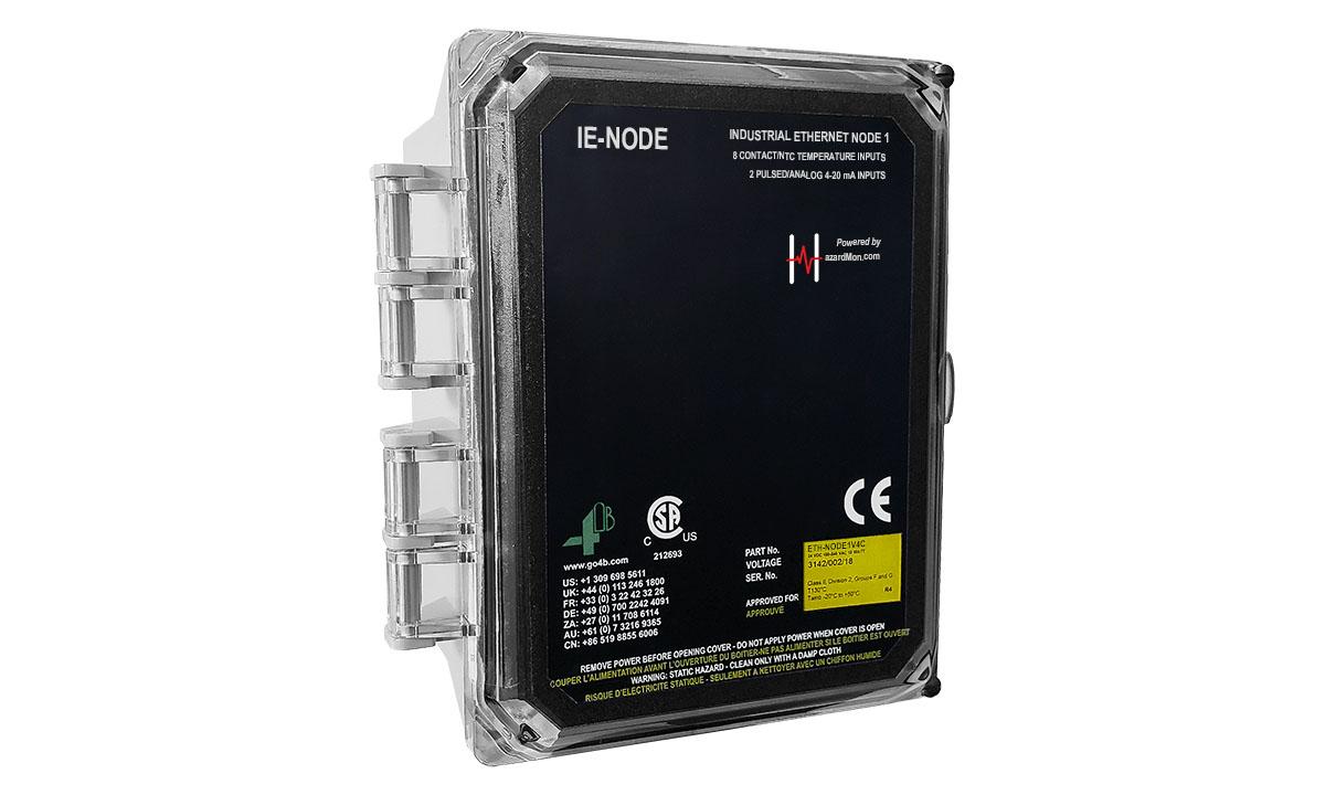 IE-KNOTEN – Remote-Sensorüberwachung für SPS- und Automationssysteme