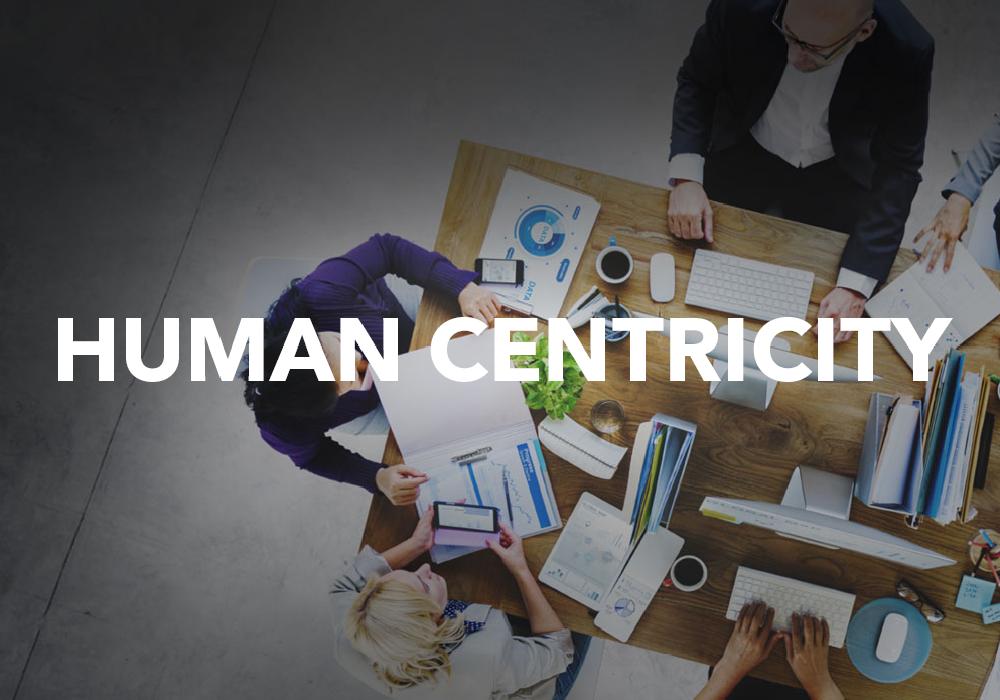 Human Centricity Text