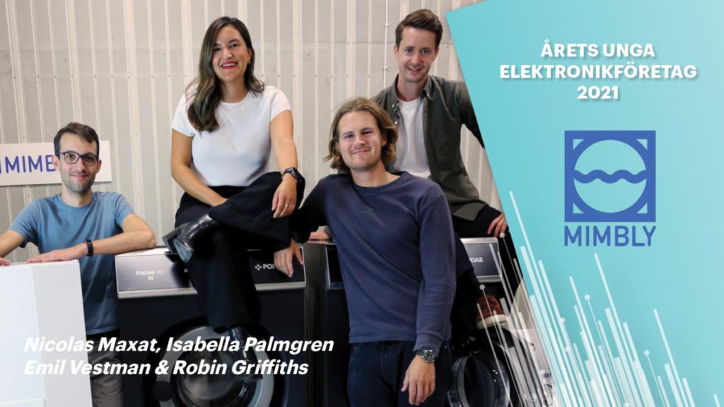 Mimbly- Årets unga elektronikföretag