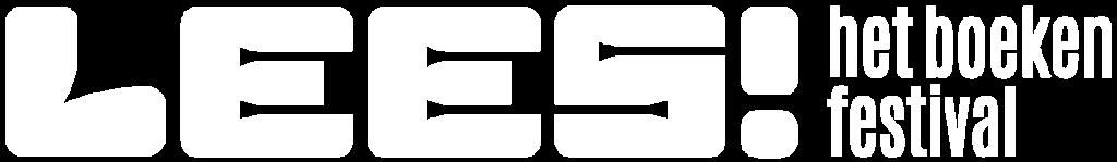 LEES! het boekenfestival Antwerp Expo logo wit